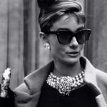 Audrey Hepburn, una diva con gli occhiali da sole